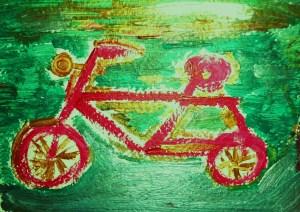 Lo scooter fucsia