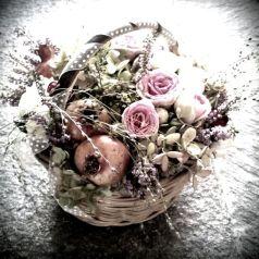 Cestino di fiori di Petali